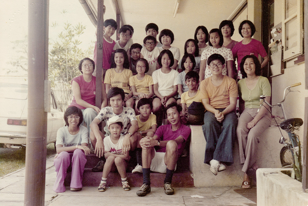 BTEFC Sunday School, led by superintendent Margaret Beng (Khoo), our co-founder (seated first from right, second row)